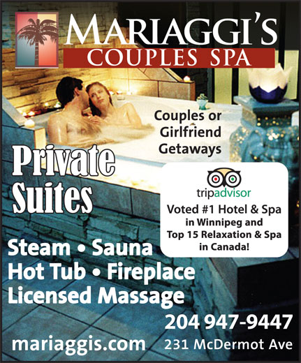 Ads Mariaggi's Couples Spa
