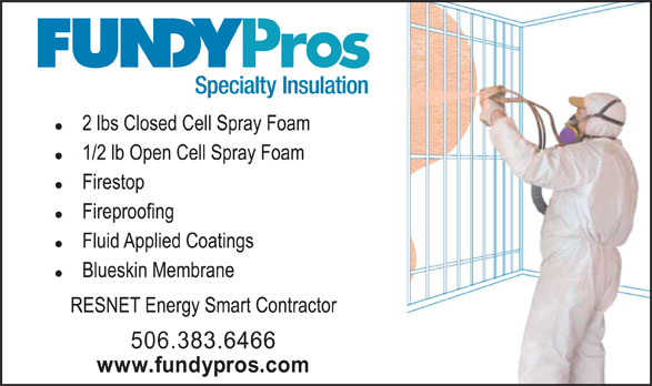 Ads FundyPros Specialty Construction