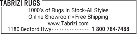 Ads Tabrizi Rugs