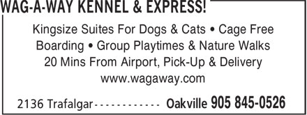 Ads Wag-A-Way Kennels Ltd