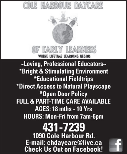 Ads Cole Hbr Daycare of Early Learners