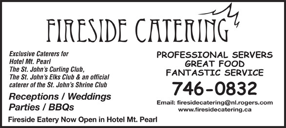 Ads Fireside Catering