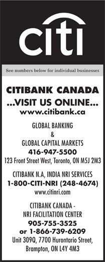Ads Citibank