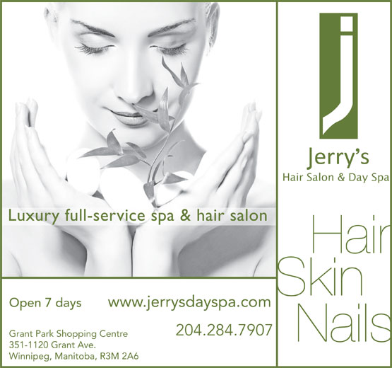 Ads Jerry&#039;s Hair Salon &amp; Day Spa