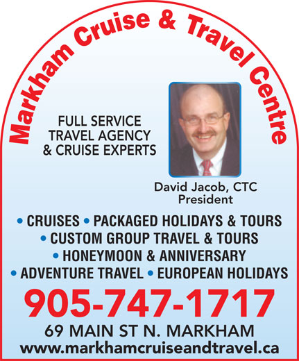 Ads Markham Cruise And Travel Centre