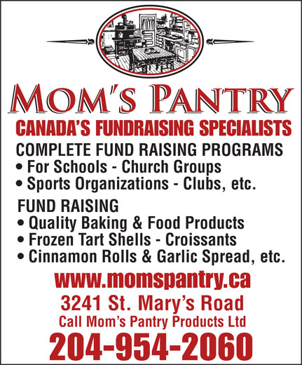 Ads Mom's Pantry Products Ltd