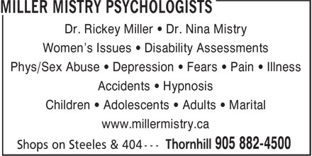 Ads Miller Mistry Psychologists