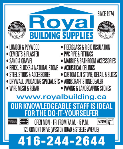 Ads Royal Building Supplies