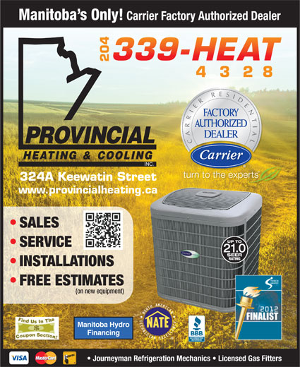 Ads Provincial Heating & Cooling