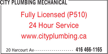 Ads City Plumbing Mechanical