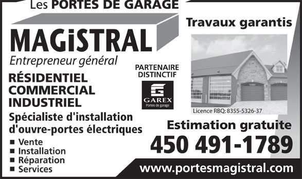 Ads Portes De Garage Magistral (Les)
