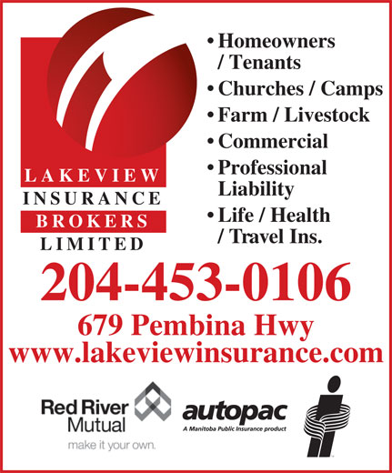 Ads Lakeview Insurance Brokers Ltd