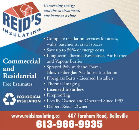 Ads Reid's Insulating