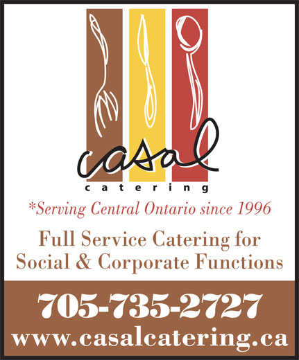 Ads Casal Catering-Lions Gate Banquet Centre