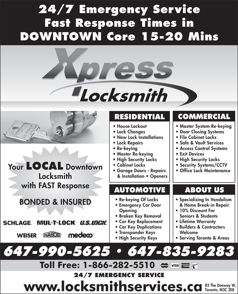 Ads Xpress Locksmith