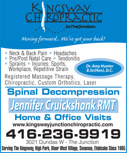 Ads Kingsway Chiropractic Center