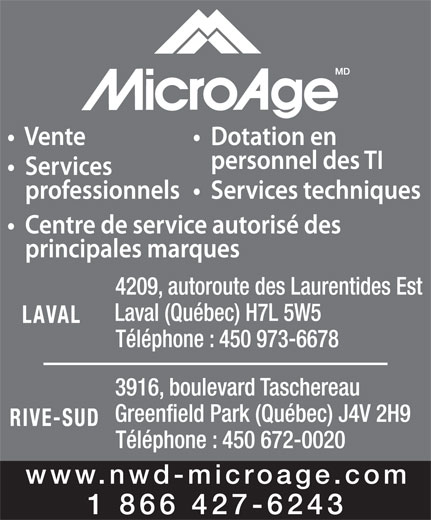 Ads MicroAge