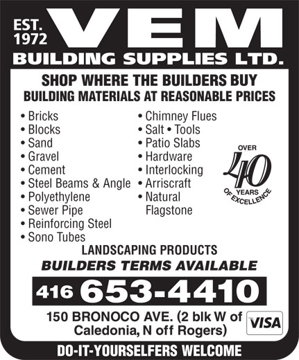 Ads Vem Building Supplies Ltd