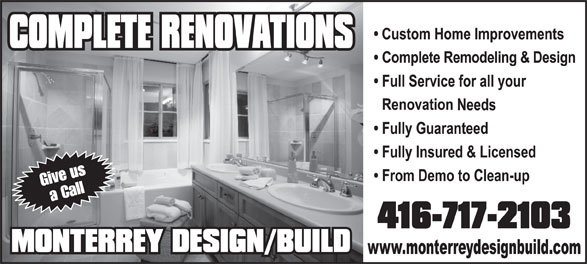Ads Monterrey Home Improvements