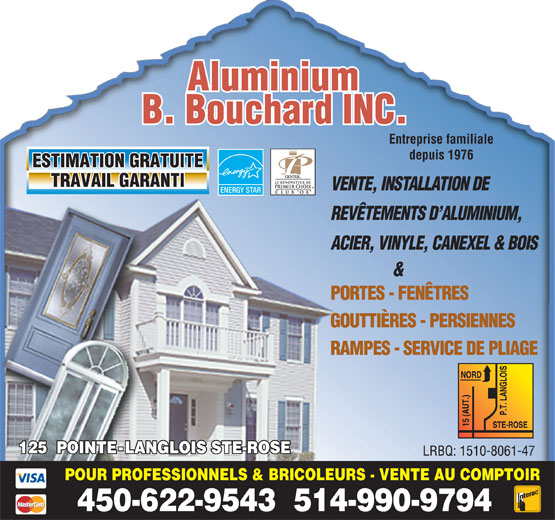 Ads Aluminium B Bouchard Inc