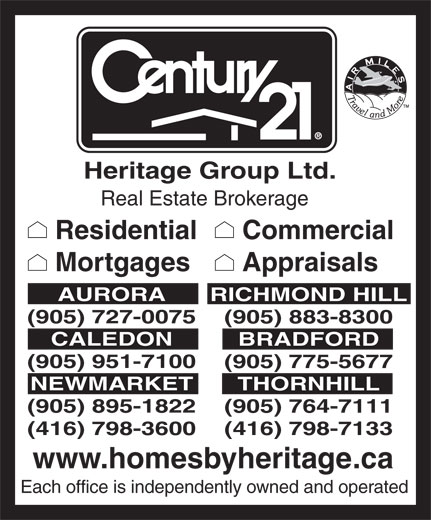 Ads Century 21 Heritage Group Ltd