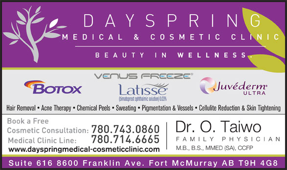 Ads Dayspring Cosmetic Clinic