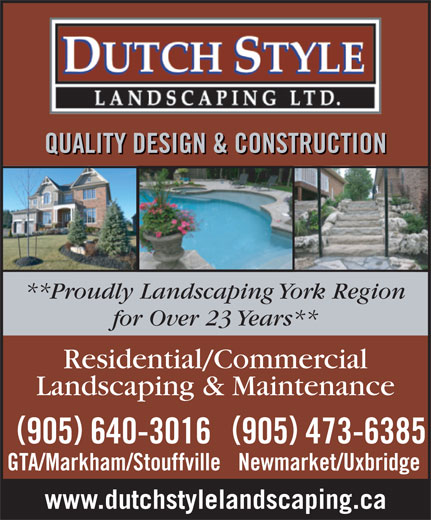 Ads Dutch Style Landscaping & Stone Solutions