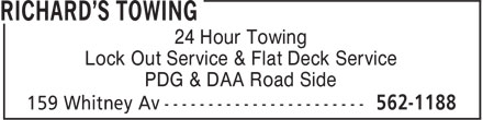 Ads Richard's Towing