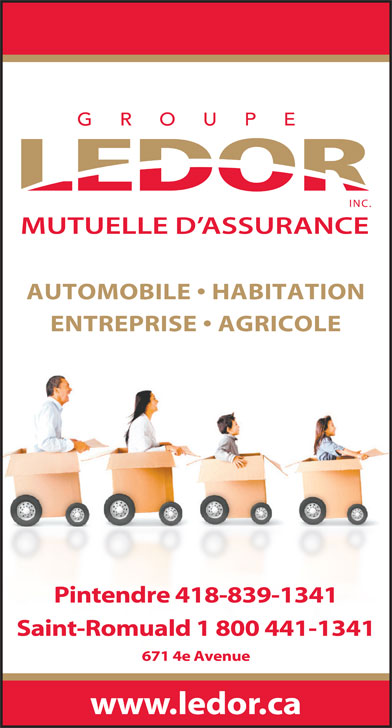 Ads Assurance Groupe Ledor Mutuelle D&#039;Assurance - Sige social