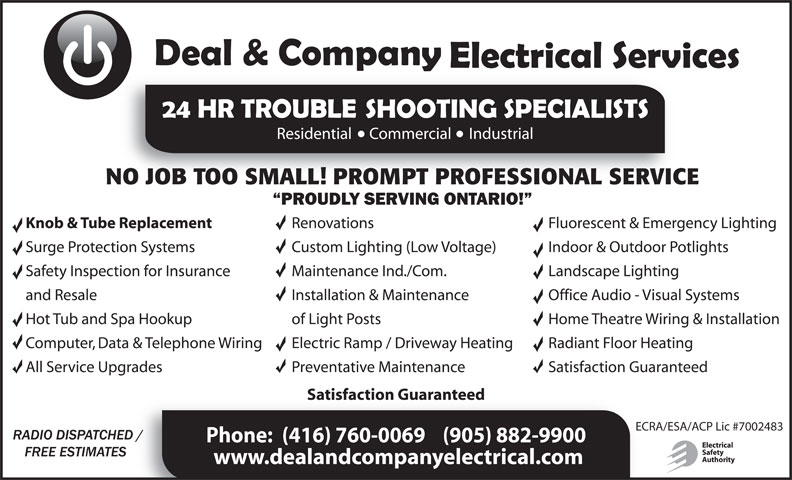 Ads Deal &amp; Company Electrical Services