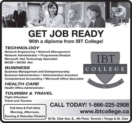 Ads IBT College