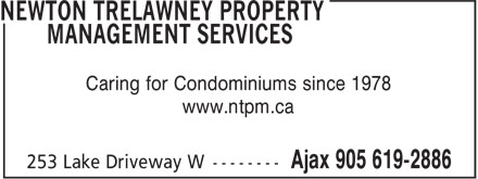 Ads Newton Trelawney Property Management Services