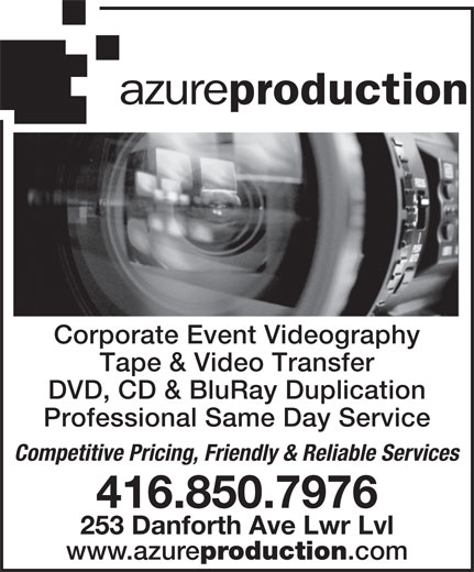 Ads Azure Production Inc