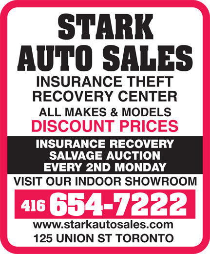 Ads Stark Iron &amp; Metal Co