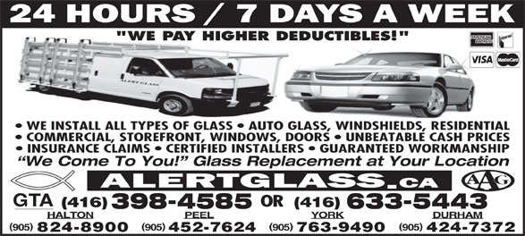 Ads A Aaaalert Auto Glass Toronto West