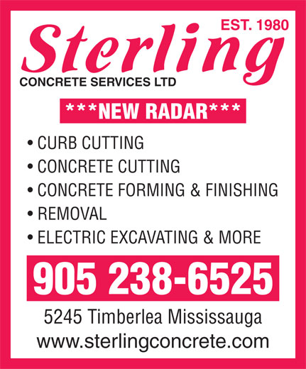 Ads Sterling Concrete Services Ltd