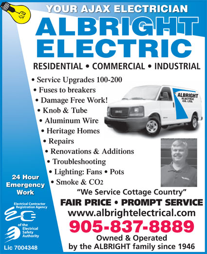 Ads Albright Electric Co