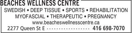 Ads Beaches Wellness Centre