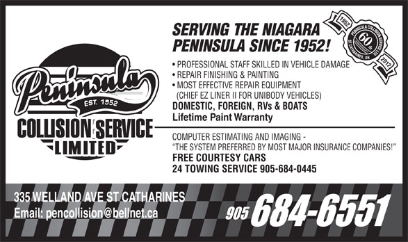 Ads Peninsula Collision Service Ltd