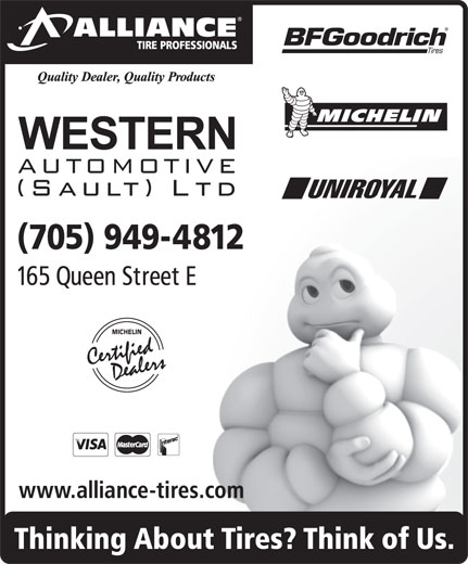 Ads Western Automotive (Sault) Ltd-Alliance Tire Professionals