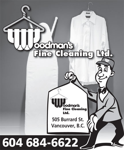 Ads Woodman's Fine Cleaning Ltd