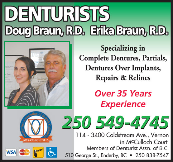 Ads Doug Braun Denturist