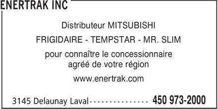 Ads Enertrak Inc
