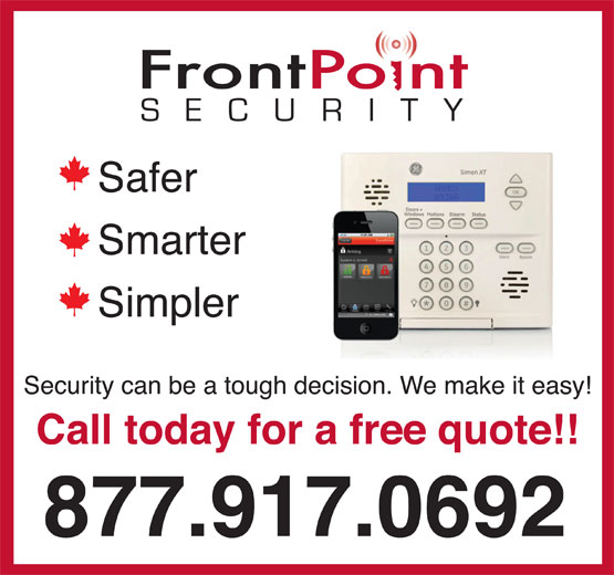 Ads FrontPoint Security