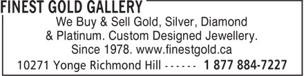 Ads The Finest Gold Gallery