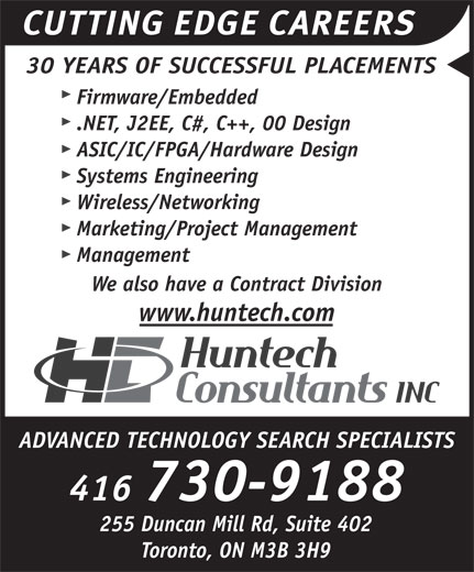 Ads Huntech Consultants Inc