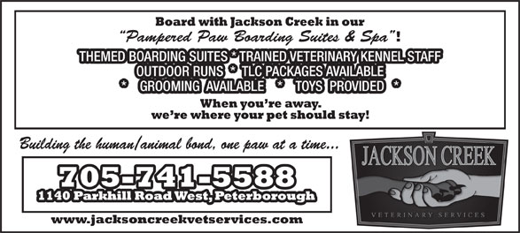 Ads Jackson Creek Pet Services