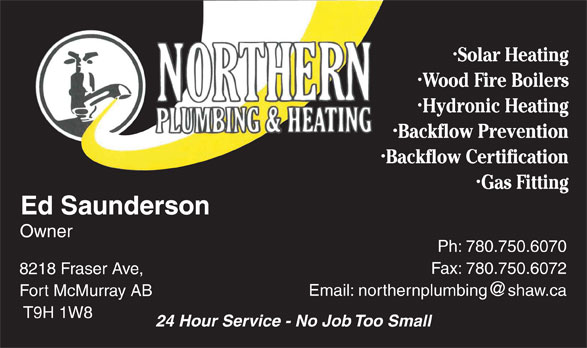Ads Northern Plumbing & Heating