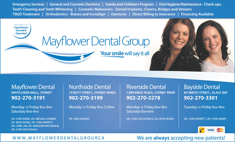 Ads Mayflower Dental Centre