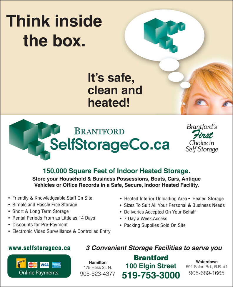 Ads Brantford Self Storage Co Inc